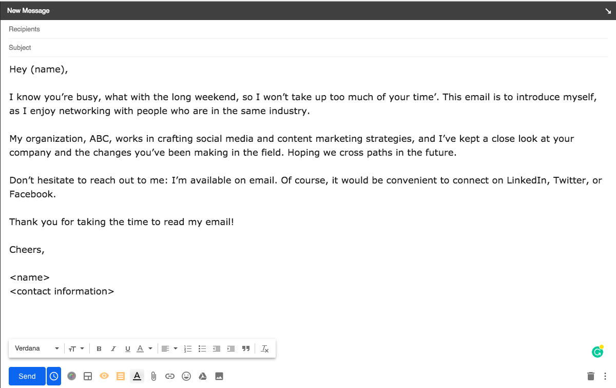 First-look-email